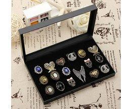 Ring Box For 36 Rings
