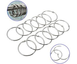 Curtain Rings Metal Per 12 Pieces
