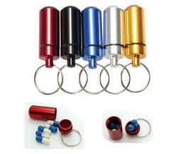 Pillbox With Keychain