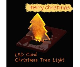 3D Christmas Card With LED Light