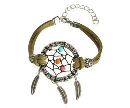Retro Bracelet With Dreamcatcher