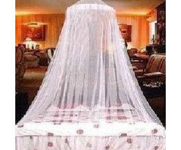 White Mosquito Net Against Mosquitoes