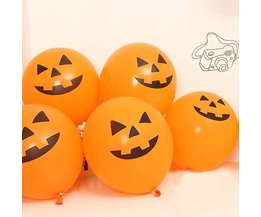 Funny Halloween Balloons 100 Pieces