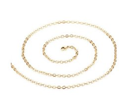 Gold Colored Link Chain