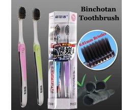 Binchotan-Toothbrushes (2 Pieces)