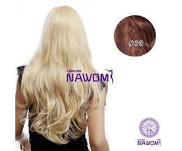 Clip In Extensions Brown (7 Pieces)