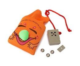 Orange Laugh Bag For Children