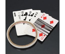 Card Trick Spinner Thread With Tape