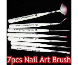 Nail Brush Set 7 Pieces