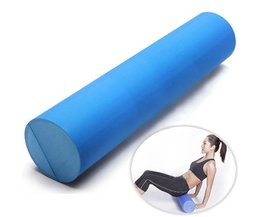 Yoga Roll Made Of Foam In Blue