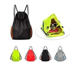 Backpack With Drawstring