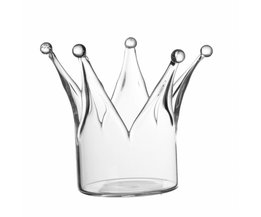 Candle Holders With Crown Design