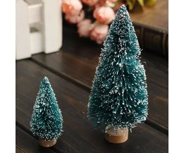 Miniature Tree With Snow