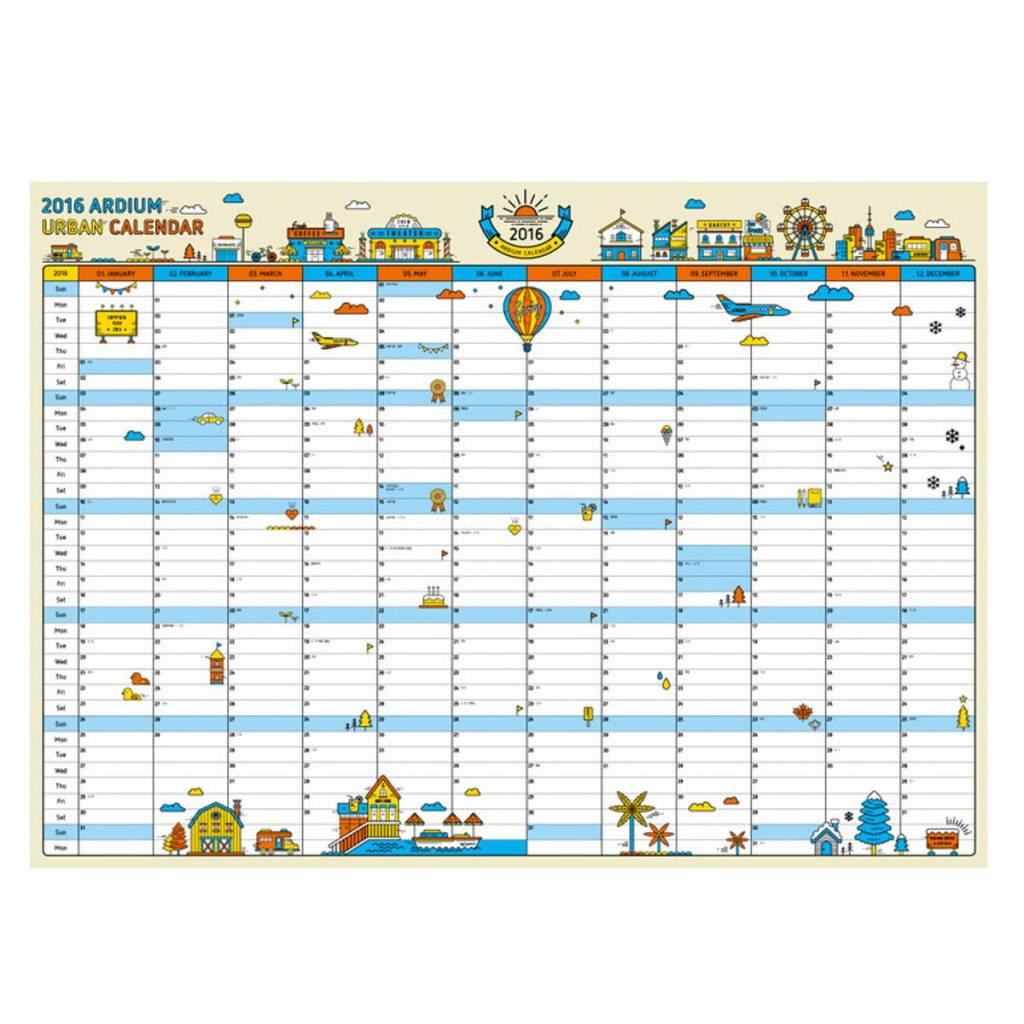 wall calendar 2016 buy online cheapest myxl gadget shop uk