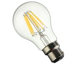 Vintage B22 A60 LED Lamp 8W