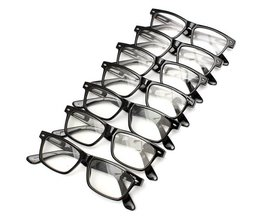 Black Reading Glasses In Different Strengths
