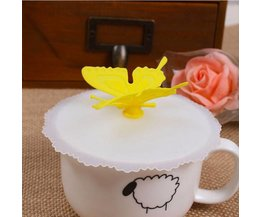 Cup Lid With Butterfly