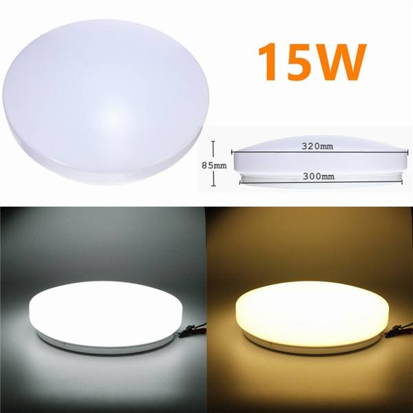 Recessed Lighting Kitchen Modern: Modern Round LED Recessed Ceiling Light 15W