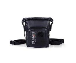 Waterproof Nylon Motortas In Black