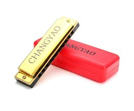 Oral Harmonica For Kids 10Gates