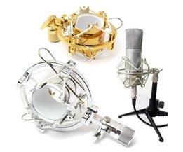 Microphone Clip For Studio Recordings