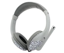 Trendy Headphone In Gray Or Orange Color