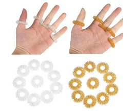Rings For Finger Massage (10 Pieces)