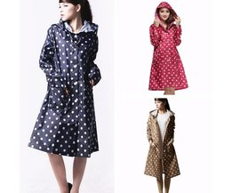 Raincoat With Polka Dots