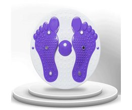 Fitness Device With Tightening And Feet Massage
