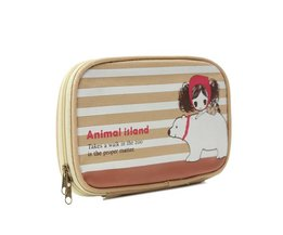 Canvas Case With Cute Print