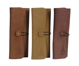 Suede And Leather Case In Multiple Colors