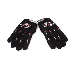 Black Motor Gloves