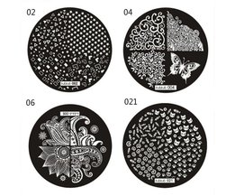 Stamp Plates For Nails