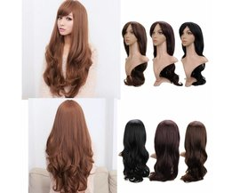 Wigs In Brown And Black