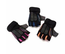 Sport Gloves Size L With Half Fingers For Men