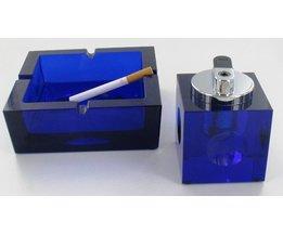 Tancon Asbak Blauw met Aansteker