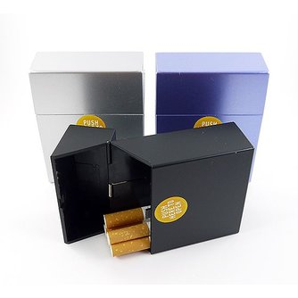 Sigarettenbox metallic 30