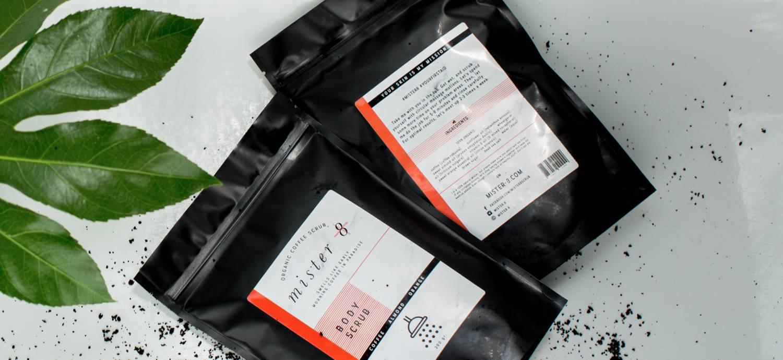 Mister 8 - coffee scrub