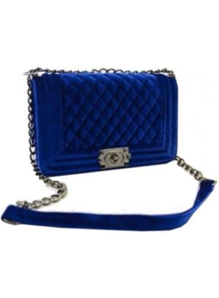 Boy Bag Velvet (L)