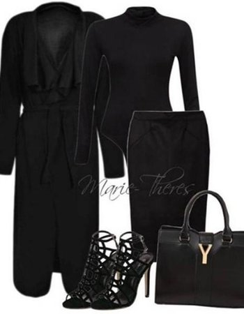 Look 'Black on Black'
