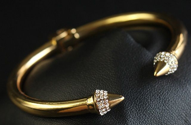 Bangle Studs Crystal