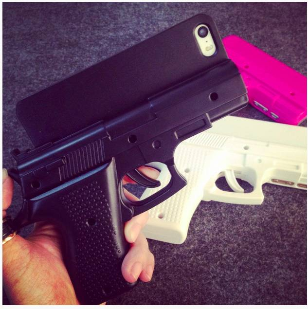 Phone Case Pistol