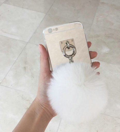 Phone Case Pom Fluffy