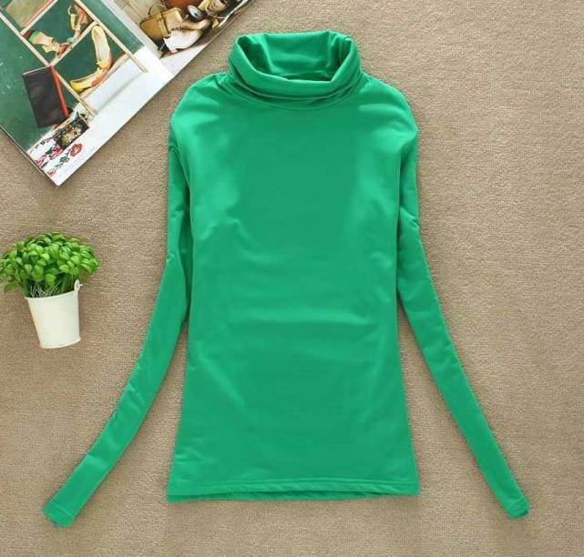 Long Sleeve Turtlenek Basic