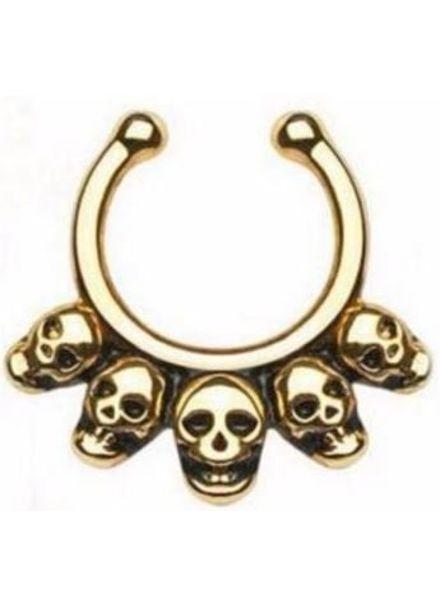 Nose Ring Skull