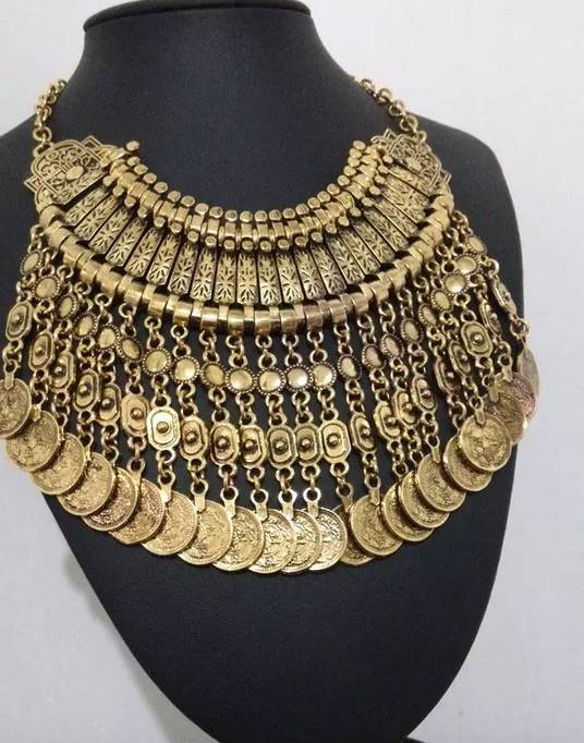 Big Necklace Lorenzia Long
