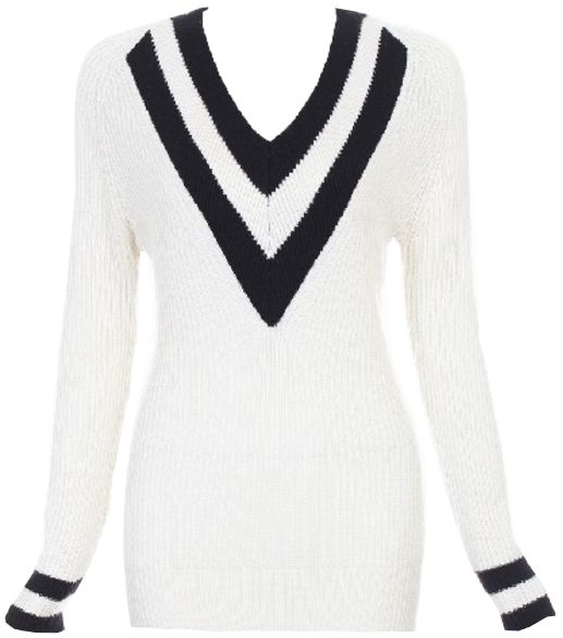 Knit Sweater Deep V