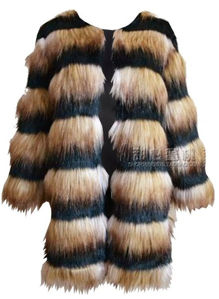 Faux Fur Jacket Gitel