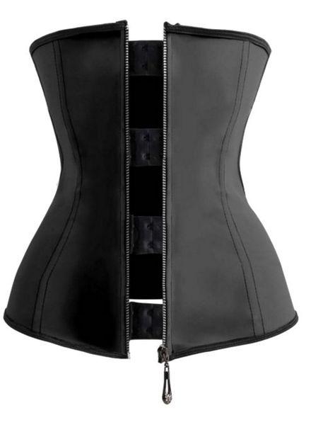 Waisttrainer Latex Zipper