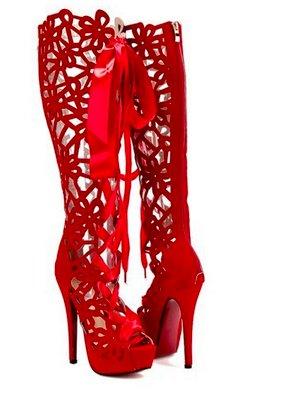 Boots Lace High Nanda